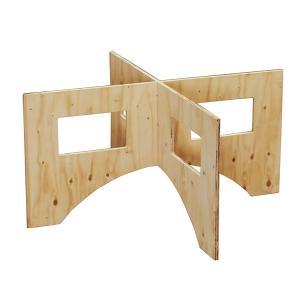 WORK LEG ワークレッグ 作業台用脚 小 高さ42cm 木製 ワークテーブル 脚|handsman