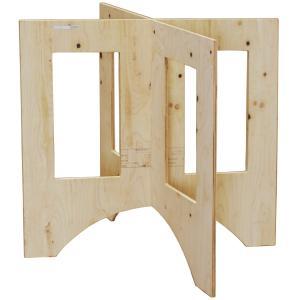 作業台 木製 ワークテーブル / WORK LEG ワークレッグ 作業台用脚 大 高さ75cm 2188589 取寄せ商品 送料別 通常配送|handsman
