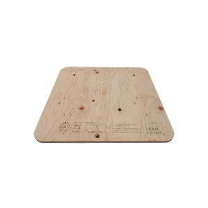 作業台 木製 ワークテーブル 天板 / WORK LEG ワークレッグ専用天板 角 65cm×65cm 2196689 取寄せ商品 送料別 通常配送|handsman