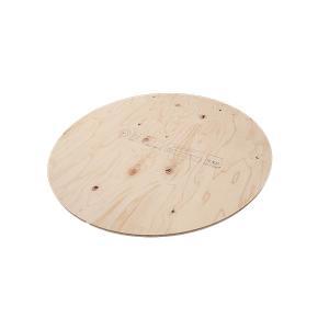 作業台 木製 ワークテーブル 天板 / WORK LEG ワークレッグ専用天板 丸 直径89cm 2196697 取寄せ商品 送料別見積 大型・割れ物|handsman