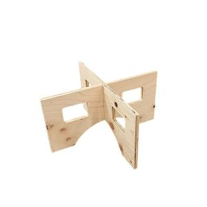 作業台 木製 ワークテーブル / WORK LEG ワークレッグ 作業台用脚 ミニ 高さ18cm 2196700 取寄せ商品 送料別 通常配送|handsman