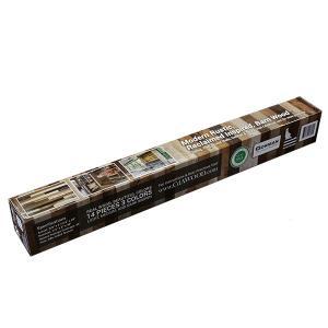 古材風化粧板 アクセントウォール 3色 14枚入り  カナダ産木材使用 2199645 送料別 通常配送|handsman