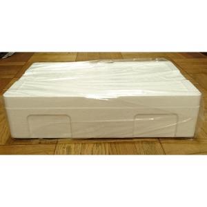 発泡スチロール クーラーボックス 保冷ボックス / 発泡スチロール容器 T-A-5号 約14L 2368153 取寄せ商品 送料別 通常配送 / 発泡ケース 箱|handsman