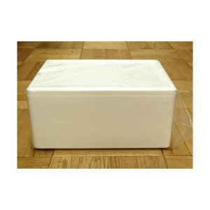 発泡スチロール クーラーボックス 保冷ボックス / 発泡スチロール容器 P-10H 約12L 2375486 取寄せ商品 送料別 通常配送 / 発泡ケース 箱|handsman