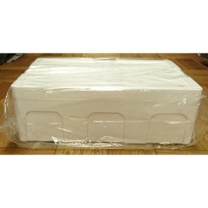 発泡スチロール クーラーボックス 保冷ボックス / 発泡スチロール容器 T-A-1号 約21L 2375508 取寄せ商品 送料別 通常配送 / 発泡ケース 箱|handsman