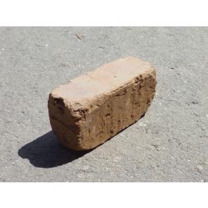 レンガ ブロック レンガブロック 敷石 / 煉瓦 ミニレンガ ブラウン 約 115×40×55mm 3215016 送料別 通常配送 handsman