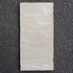 ステップストーン / 天然石 敷石 GLENMOOR イエローブラウン 中 約 560mm×275mm 3219461 送料別見積 大型・割れ物|handsman