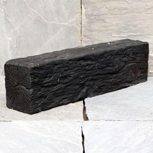 リアル!軽量コンクリート製 枕木 「ガーデン」 フラット グレー (3221750) 【送料別】【通常配送】 handsman