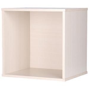 カラーボックス 収納ボックス ウッドボックス / オフホワイト 木箱 木製 ボックス 収納箱 3875253 取寄せ商品 送料別 通常配送|handsman