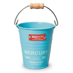マーキュリー MERCURY ブリキミニバケツ ブルー MEBUMBBL (3894100)【取寄せ商品】【送料別】【通常配送】|handsman