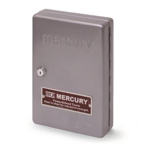 マーキュリー MERCURY キーキャビネット シルバー MEKECASV (3894240)【取寄せ商品】【送料別】【通常配送】|handsman