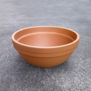 テラコッタ鉢 ディープボール 直径42cm×高さ20cm 重さ:6kg (4024389) 【送料別】【通常配送】 handsman