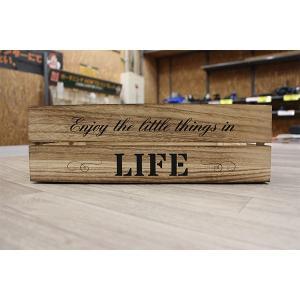 箱 収納ボックス アンティークボックス / ウッドボックス ナチュラル WD3812-NA 38cm×26cm×12cm 木箱 木製 ボックス 4804090 取寄せ商品 送料別 通常配送|handsman