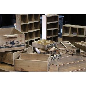木箱 ウッドボックス / DULTON ウッドスタッキングボックスA CH14-H518NT 4808916 取寄せ商品 送料別 通常配送 / アンティークボックス ボックス 木製 箱 小物 handsman 04