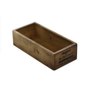 木箱 ウッドボックス / DULTON ウッデン ボックス CH10-H410NT 4808932 取寄せ商品 送料別 通常配送 / アンティークボックス 木製 箱 収納ボックス 小物収納|handsman