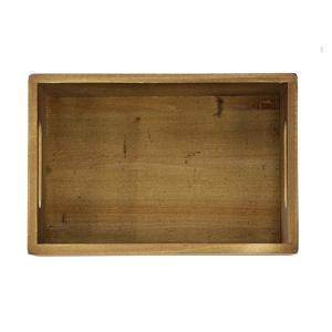 木箱 ウッドボックス / DULTON ウッデン ストッカー ボックス CH14-H500NT 4808983 取寄せ商品 送料別 通常配送 / アンティークボックス 木製 箱 収納 小物|handsman|02