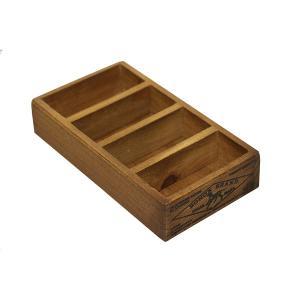 木箱 名刺 / DULTON ウッデン ボックス フォー ビジネスカード CH14-H503NT 4809017 取寄せ商品 送料別 通常配送 / ウッドボックス 木製 アンティークボックス|handsman