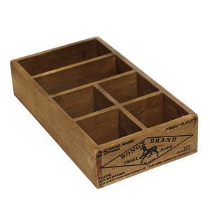木箱 はがき レターケース / DULTON ウッデン オーガナイザー ボックス CH14-H522NT 4809041 取寄せ商品 送料別 通常配送 / ウッドボックス 木製 ポストカード|handsman