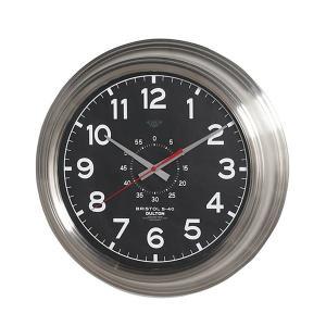 ダルトン ウォールクロック ブリストル BRISTOL S-40 K725-924BD ブラック 壁掛け時計 4956230 取寄せ商品 送料別 通常配送|handsman