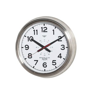 ダルトン ウォールクロック ブリストル BRISTOL S-30 ホワイト 壁掛け時計 4956257 取寄せ商品 送料別 通常配送|handsman