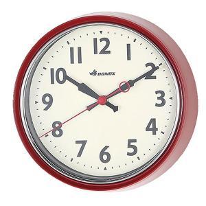 ダルトン ウォールクロック S426-207 レッド 壁掛け時計 4956303 取寄せ商品 送料別 通常配送|handsman