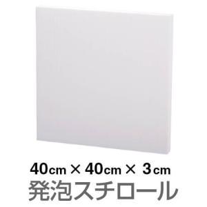 発泡スチロール ブロック 白 ホワイト 400×400×30mm|handsman