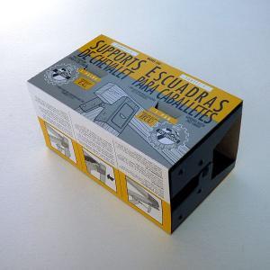 【売価変更】ソーホースブラケット 1セット(2個入り) 400SHB 【工】 (5276519)【送料別】【通常配送】|handsman|03