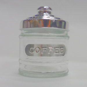 ガラス キャニスター COFFEE 11 高さ:約11cm (5754909)  送料別 通常配送|handsman