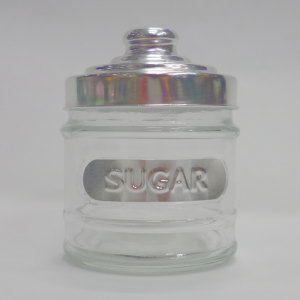 ガラス キャニスター SUGAR 11 高さ:約11cm (5754925)  送料別 通常配送|handsman