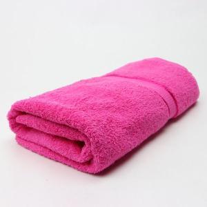 ワイドバスタオル SKピンク サイズ90cm×160cm 綿100% (pink) (5845246)  送料別 通常配送 handsman