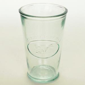 ガラスコップ ガラス コップ リサイクルガラス / エコガラスコップ 300cc MILK 20421 5850088 送料別 通常配送|handsman