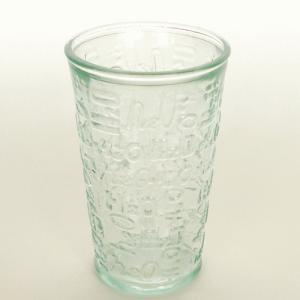 ガラスコップ ガラス コップ リサイクルガラス / エコガラスコップ 300cc H2O 2088 5850100 送料別 通常配送|handsman