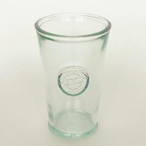 ガラスコップ ガラス コップ リサイクルガラス / エコガラスコップ ロゴ 300cc 2176 5850150 送料別 通常配送|handsman