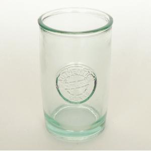 ガラスコップ ガラス コップ リサイクルガラス / エコガラスコップ ロゴ 400cc 2177BIG 5850169 送料別 通常配送|handsman