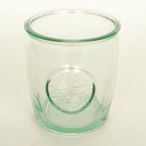 ガラスコップ ガラス コップ リサイクルガラス / エコガラスコップ ロゴ 450cc 2178S 5850177 送料別 通常配送|handsman