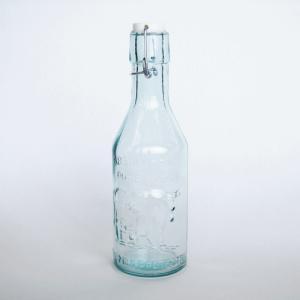 エコガラスボトル スイングトップ式 MILK 容量:1L (5850509) 【送料別】【通常配送】|handsman