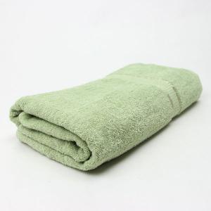 ワイドバスタオル ミントグリーン サイズ90cm×160cm 綿100% (6524982)  送料別 通常配送 handsman