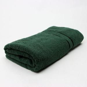 ワイドバスタオル モスグリーン サイズ90cm×160cm 綿100% (6525083)  送料別 通常配送 handsman