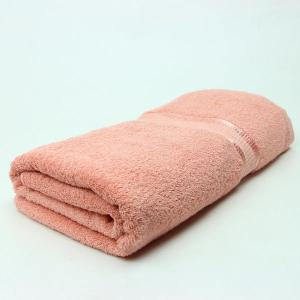 ワイドバスタオル チェリーピンク サイズ90cm×160cm 綿100% (pink) (6525130)  送料別 通常配送 handsman