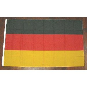 国旗 ドイツ 大サイズ 90cm×150cm (6662285)  送料別 通常配送|handsman