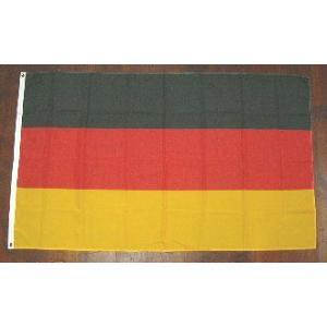 国旗 ドイツ 中サイズ 60cm×90cm (6662293)  送料別 通常配送 handsman