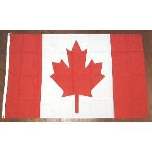 国旗 カナダ 大サイズ 90cm×150cm (6662340)  送料別 通常配送|handsman