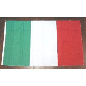 国旗 イタリア 中サイズ 60cm×90cm (6662382)  送料別 通常配送|handsman