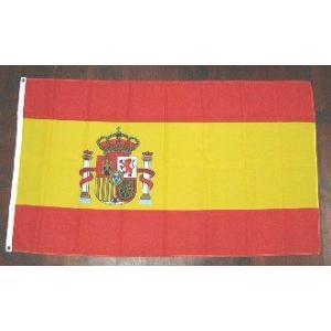 国旗 スペイン 大サイズ 90cm×150cm (6662544)  送料別 通常配送|handsman