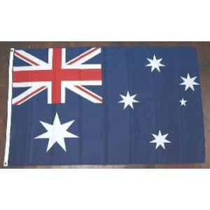 国旗 オーストラリア 中サイズ 60cm×90cm (6662617)  送料別 通常配送 handsman