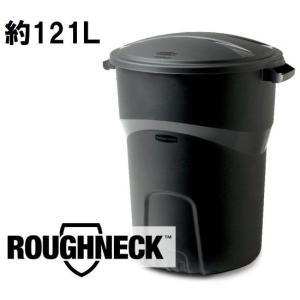 ラバーメイド キャスターなし 121L ペールRubbermaid 32 Gal Roughneck Non-Wheeled Trash Can #5H38 (6803920) 【送料別】【通常配送】