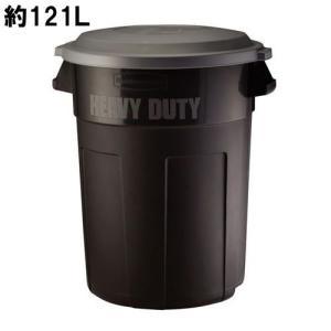ラバーメイド キャスターなし 121L ペール(耐候) Rubbermaid 32 Gal Heavy Duty Non-Wheeled Trash Can #2775 (6803946) 【送料別】【通常配送】
