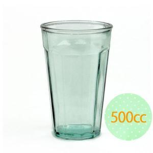 ガラスコップ ガラス コップ リサイクルガラス / エコガラスコップ 500cc CASUAL 2230 6851460 送料別 通常配送|handsman