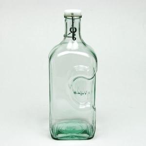 スイングボトル ガラスボトル / エコガラスボトル スイングトップ式 FRIGO 5729 容量2000ml 6851533 送料別 通常配送 /リサイクルガラス ふた付き 蓋付 ガラス瓶|handsman