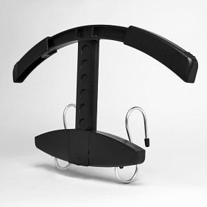 ナカバヤシ チェアハンガー「服の神」 RCH-101BK ブラック (6885357) 【取寄せ商品】【送料別】【通常配送】|handsman